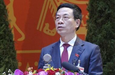 Bộ trưởng Nguyễn Mạnh Hùng: 'Đặt mục tiêu cứ 1000 người dân sẽ có 1 doanh nghiệp công nghệ số'