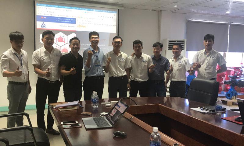 Chips khởi động dự án triển khai Phần mềm, Ứng dụng Mobile cho công ty sản xuất SHINYI